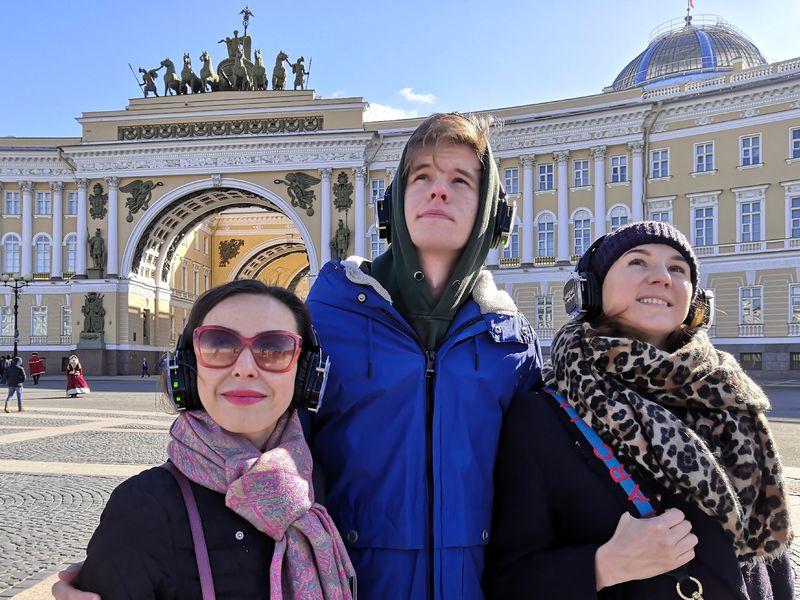 Экскурсия Иммерсивная прогулка по улицам Петербурга