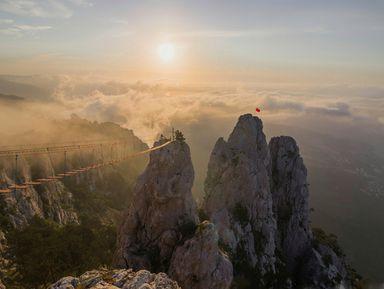 Рассвет ифотосессия нагоре Ай-Петри