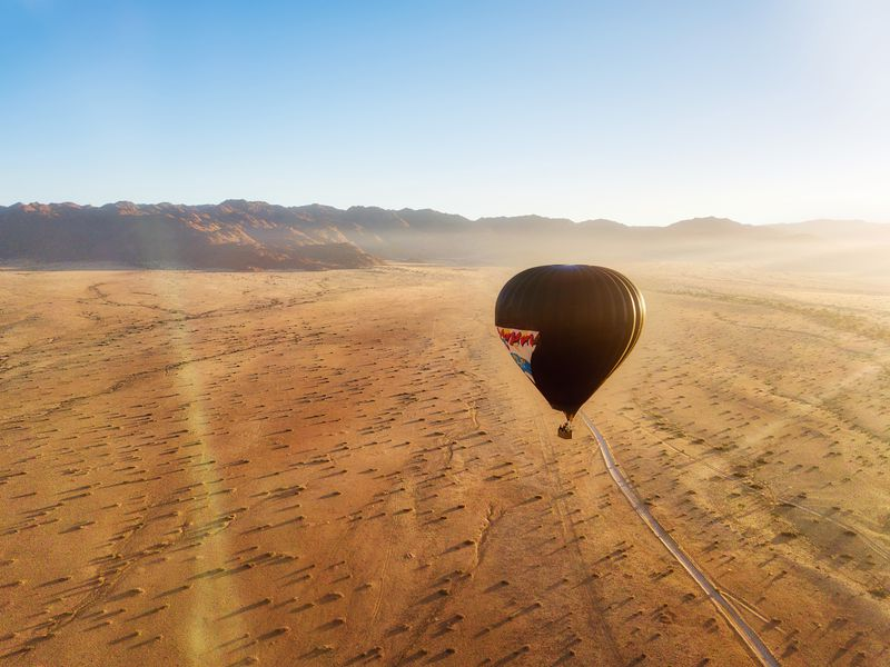 Экскурсия Полет навоздушном шаре впустыне Дубая