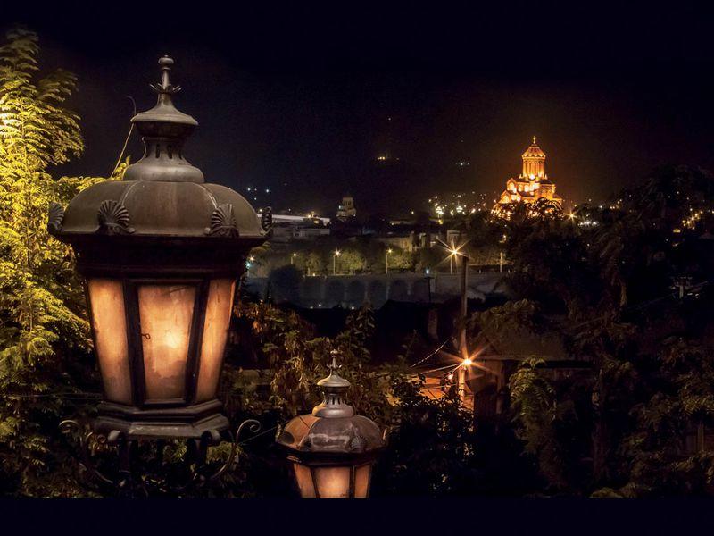 Экскурсия Тбилиси — магия вечернего города