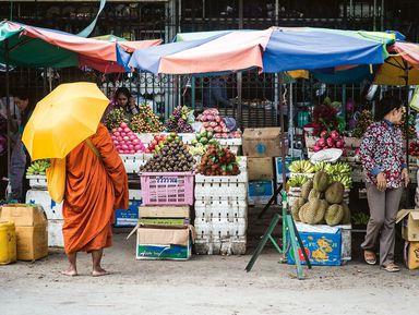Колоритный Сием Реап и тайная жизнь кхмеров