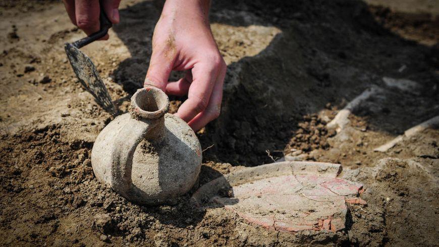 Археологические раскопки в Пскове. Путешествие в глубину веков