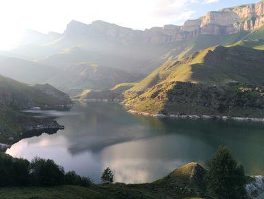 Джип-тур сквозь облака! Озеро Гижгит и Чегемские водопады