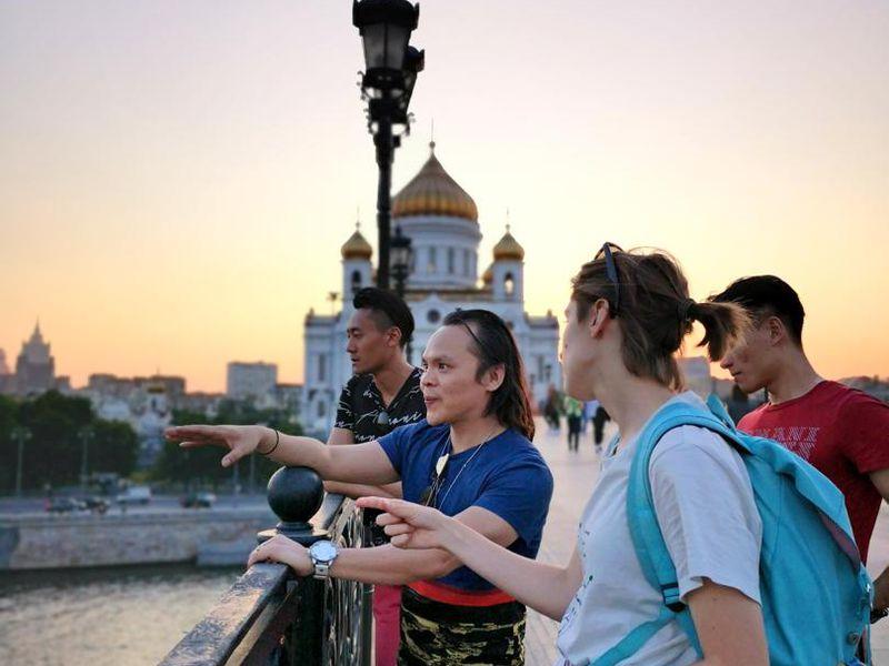 Экскурсия Привет, Москва! Нескучная прогулка систориком архитектуры