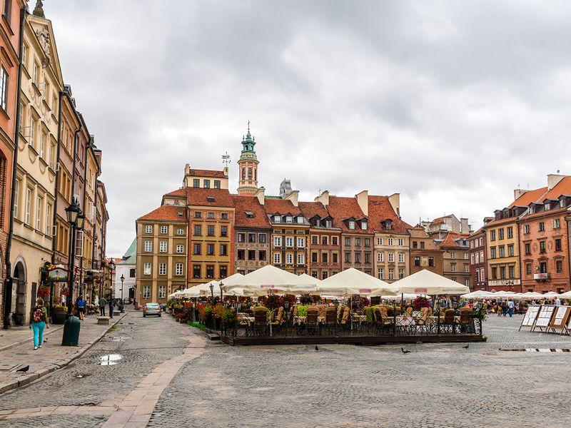 Ежедневная прогулка по Варшаве