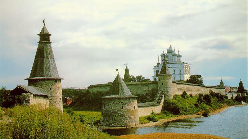 Первое знакомство с Псковским Кремлем