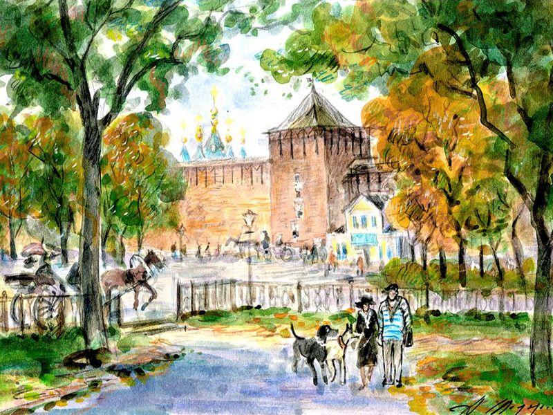 Экскурсия Сказки Коломенского кремля