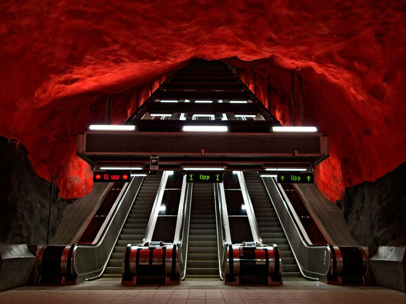 Экскурсия Метро Стокгольма
