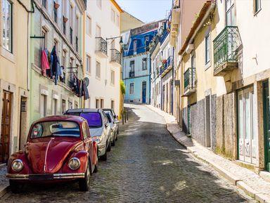 Автомобильная прогулка по Лиссабону: классика и импровизация