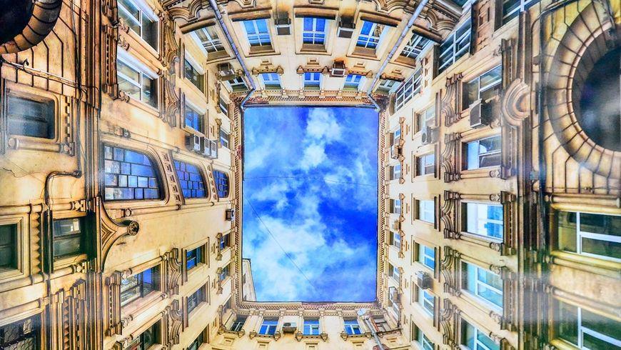 11 неожиданных дворов Москвы
