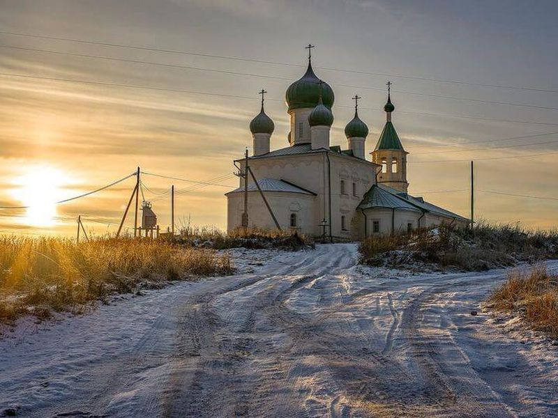 Экскурсия В Холмогоры — на родину Ломоносова