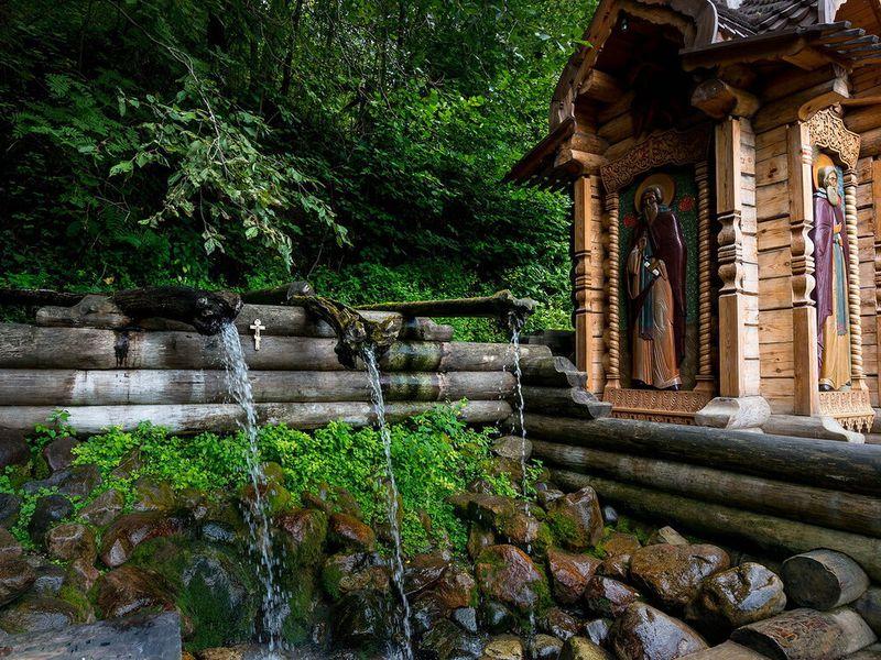 Экскурсия Водопад Гремячий ключ ирусская Гефсимания