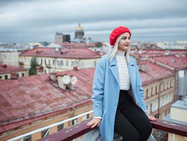 Фотосессия на питерских улочках и крыше!