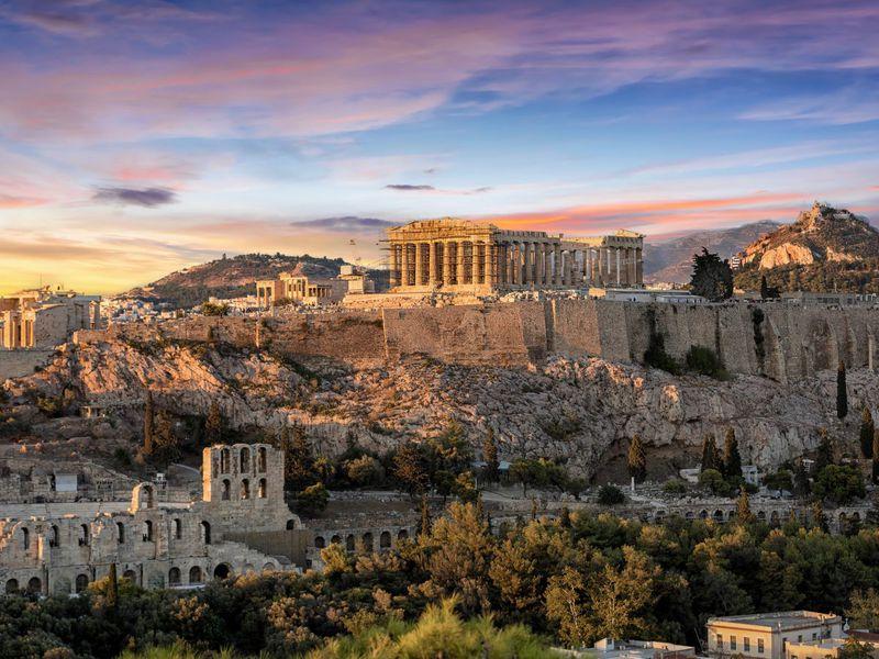 Экскурсия Афины— город вечной красоты исвободы