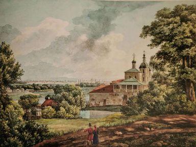 Воробьевы горы— знаменитые холмы Москвы