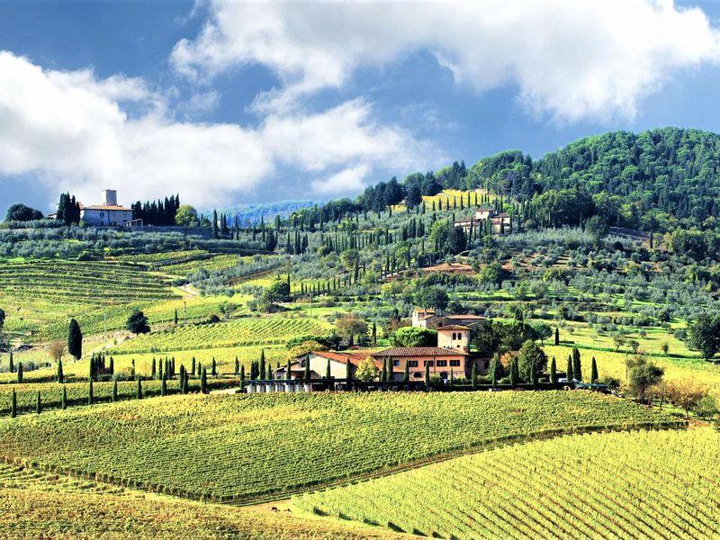 Экскурсия Та самая Тоскана: вино в замке Кьянти и пейзажи