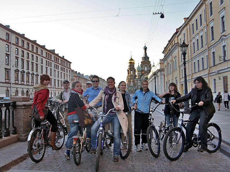 Экскурсия Вело-экскурсия «Весь Петербург за 2 часа»