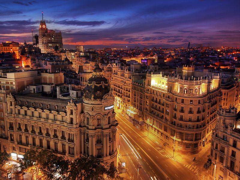 Экскурсия Мадрид: прошлое и настоящее