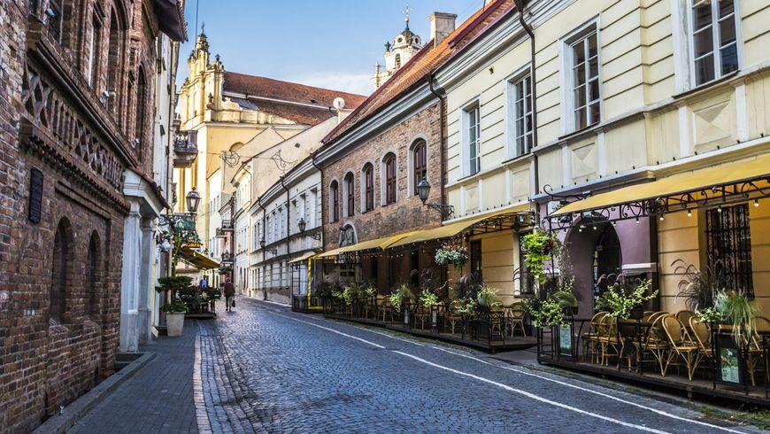 Ежедневная прогулка по Вильнюсу