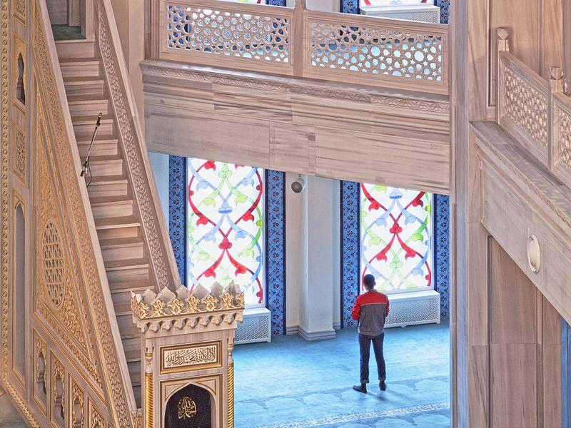 Фото Соборная Мечеть— восточный шедевр Москвы