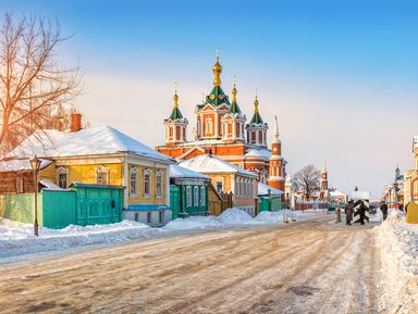 Коломна — город золотых куполов и древних обителей