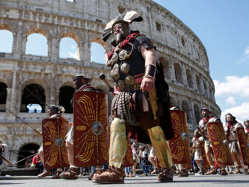 Экскурсия Гладиаторы и легионеры Древнего Рима