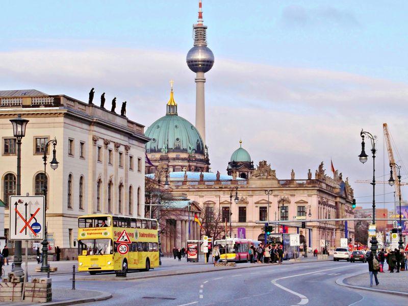 Экскурсия Многослойная культура Берлина