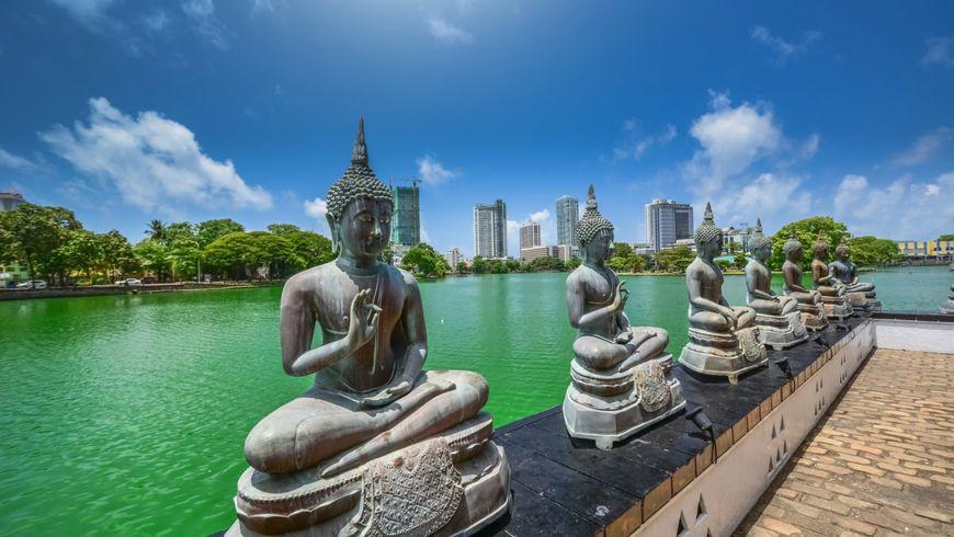 Коломбо— Шри-Ланка вминиатюре