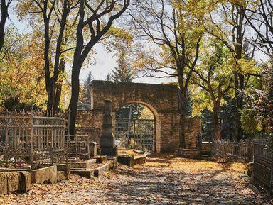 Пятигорский некрополь — каменная летопись города