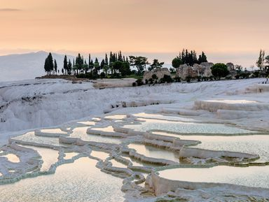 Из Антальи — в Памуккале и античный Иераполис
