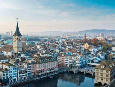Пешком по центру Цюриха