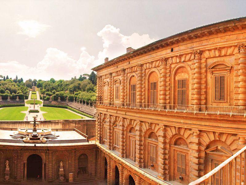 Экскурсия Палаццо Питти— лучший дворец Флоренции