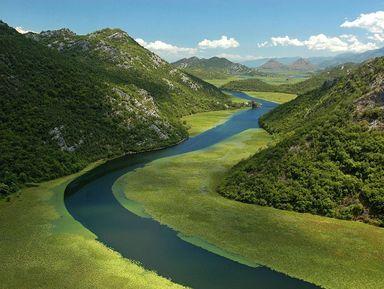 Скадарское озеро, Риека Црноевича и обед на водопаде