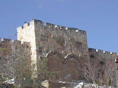 По следам Иисуса Христа в Иерусалиме