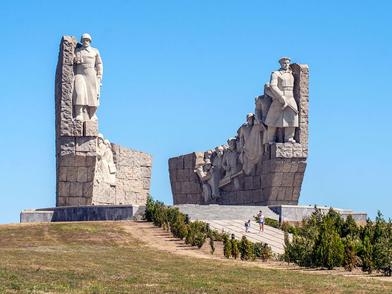 Экскурсия Легенды Миусс-фронта. Самбекские высоты