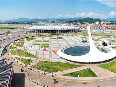 Автомобильное путешествие в Олимпийский парк
