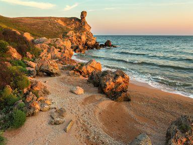 Джип-путешествие на заповедные Генеральские пляжи