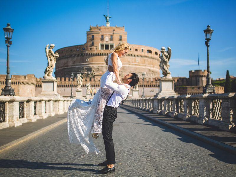 Экскурсия Фотопрогулки и «love story» в потрясающем Риме