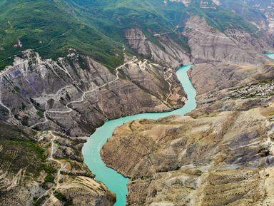Путешествие мечты: Сулакский каньон и бархан Сарыкум