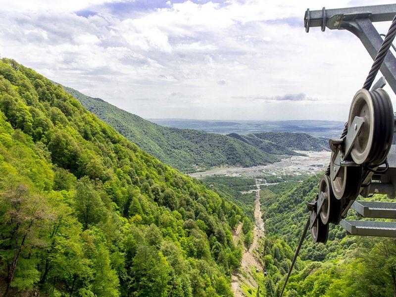 Габала: путешествие в азербайджанскую Швейцарию