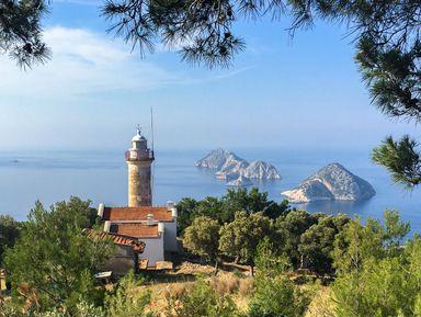 Из Антальи — к маяку на мысе Гелидония!