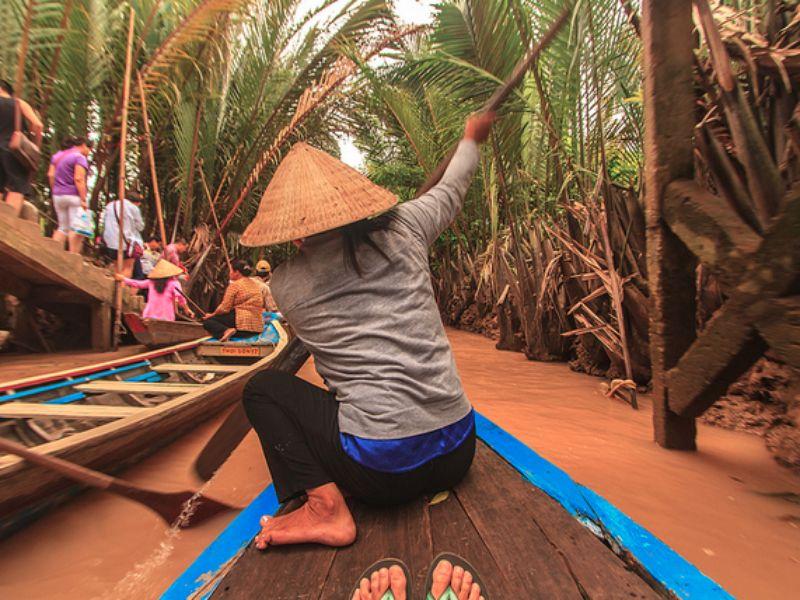 Экскурсия Меконг и плавучие рынки
