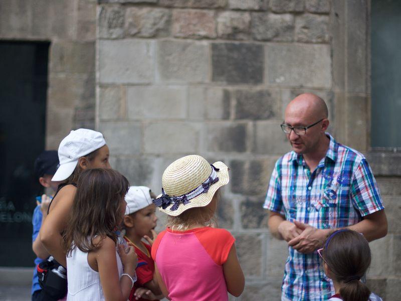 Экскурсия Обзорная Барселона: детская версия