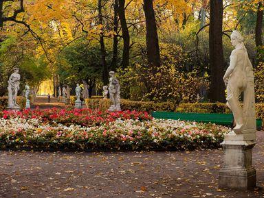 История исекреты петербуржских садов
