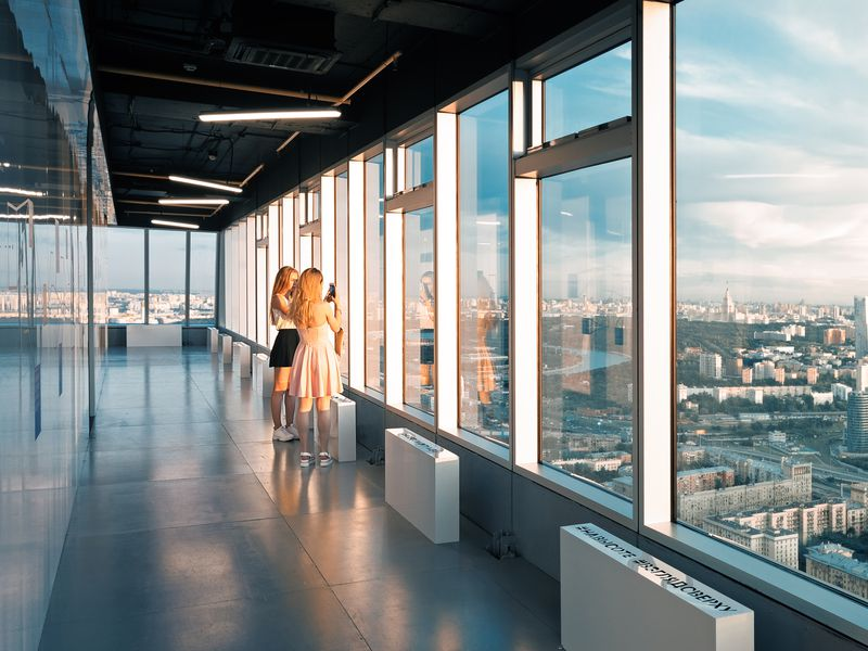 Экскурсия Музей Москва-Сити: 56 этаж с панорамным видом