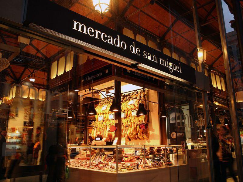 Экскурсия Колоритные рынки Мадрида