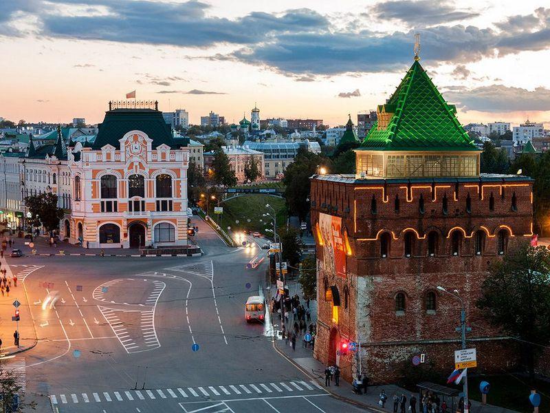 Экскурсия Нижегородские этюды