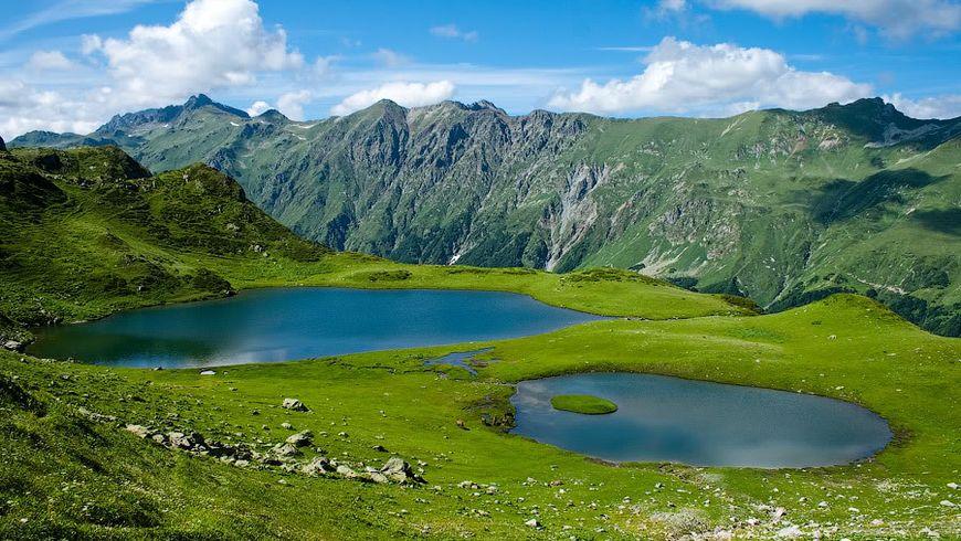 Долина семи озёр и альпийские луга Абхазии