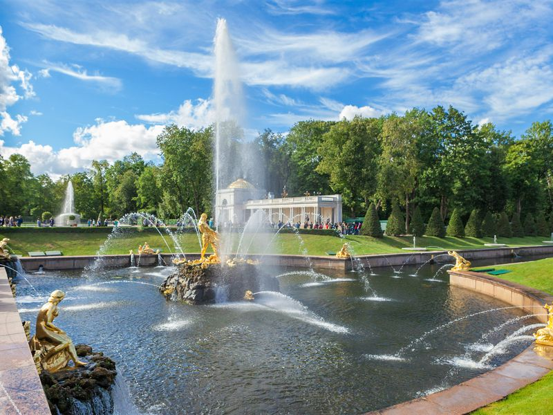 Экскурсия Фото-экскурсия «Петергоф — столица фонтанов»