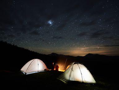 Ночь под звёздами на Бзерпинском карнизе